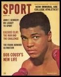 Mohammed Ali when he was Cassius Clay.
