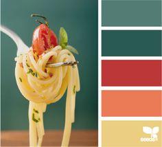 color palettes, color scheme for kitchen, design seeds, color combos, bedroom colors, kitchen colors schemes, best kitchen colors, color bite, teal color palette
