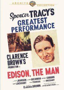 Amazon.com: Edison the Man: Charles Coburn, Henry Travers, Gene Lockhart Spencer Tracy, Clarence Brown: Movies & TV