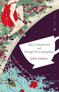 Book : Alice's Adventures in Wonderland & Through the Looking-Glass