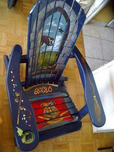 Harry Potter Themed Muskoka chair