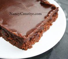 The Best (Texas) Chocolate Sheet Cake   NancyCreative