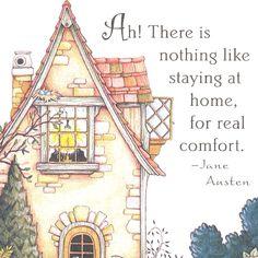 mari engelbreit, living rooms, mary engelbreit, comfort zone, jane austen, place, homes, sweet home, quot