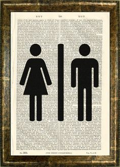 Idea for bathroom door