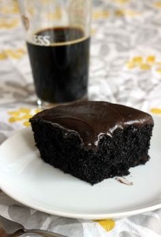 Chocolate Stout Cake With Guiness - Could it be more perfect???