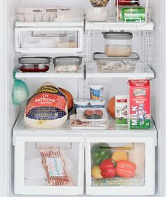 How Long Will Food Last in the Refrigerator? Answers from Real Simple mag.