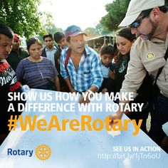 August is Membership Month at #Rotary. Learn about what you can do to get involved. Read more at: www.rotary.org/myrotary/en/celebrate-membership-month. #WeAreRotary