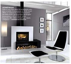 poele on pinterest loft fireplaces and wood storage. Black Bedroom Furniture Sets. Home Design Ideas
