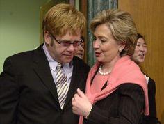 Because she's got Elton John's ear.