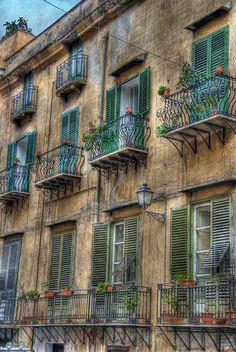 Apartments in Palermo, Sicily, Italy