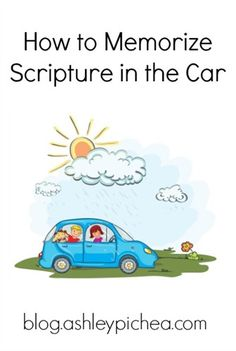 How to Memorize Scripture in the Car