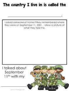 Fun in First Grade: September 11th