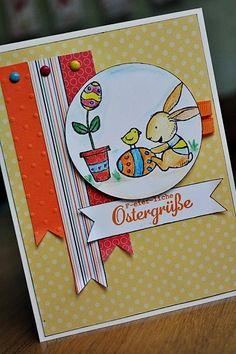 Osterkarte (Stampin'Up)