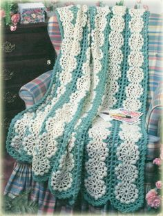 **A BEAUTIFUL AFGHAN!! i WOULD LOVE ONE FOR MYSELF**  Image detail for -PATTERNS FOR CROCHET AFGHANS   Crochet For Beginners