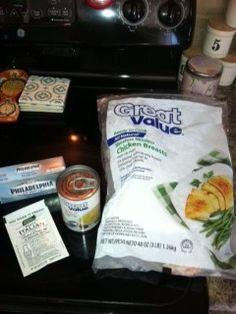 Creamy Italian Chicken Crockpot Recipe | A Penny Filled Pantry