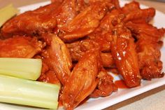 Crispy Baked Chicken Wings - great method of baking wings and getting that crispy skin