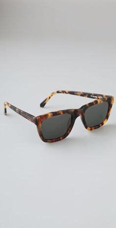 Karen Walker Deep freeze Sunglasses #shades #sunglasses #tort #karenwalker