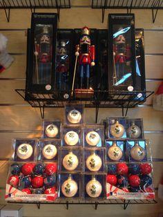Nutcracker, Ornament Ball Set, CBP Baseball Ornament