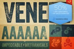 Veneer Complete Family ~ Display Fonts on Creative Market