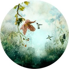 So soothing and ethereal.  Saatchi Online Artist: Ysabel LeMay.