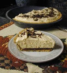 Peanut Butter Pie Recipe with Chocolate Chips - 7 Point Total - LaaLoosh