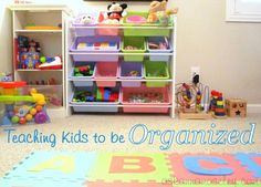 Teaching kids to be organized-- Ask Anna
