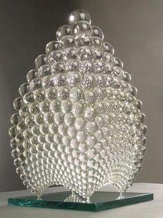 glass art, glass sculptor, noospher sculptur