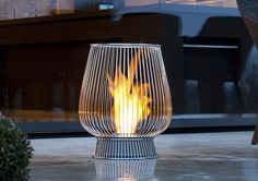 Bulb Bio Ethanol Garden Fire    http://www.gomodern.co.uk/store/bulb-bio-ethanol-garden-fire.html#
