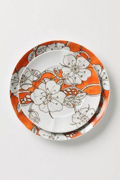 desert blooms dinnerware