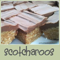 just Sweet and Simple: Scotcharoos: Chocolate Butterscotch Bars