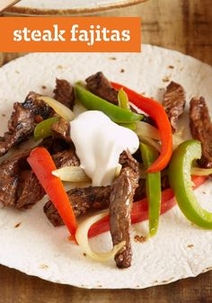 Steak Fajitas – Just as good – if not better! – than the ones you get at your favorite Mexican restaurant. You'll be sure to keep this recipe in your dinner menu rotation.