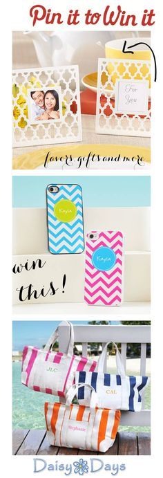 {Pin it to Win it}: Click here for your chance to win a 100.00 gift certificate to Daisy Days! Just pin it to win it! (contest open to all!) http://www.theperfectpalette.com/2013/02/pin-it-to-win-it-daisy-days.html