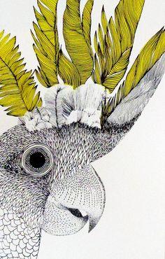 Print Club London – Cockatoo by Hannah O'Hare