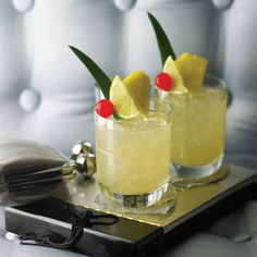 Love the way this Mai Tai is presented