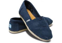 Classics Freetown Navy Toms Women Shoes