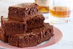 Bourbon Brownies from Pixelated Crumb - a recipe to try!