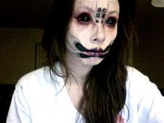 Sfx makeup by me :3 Anyone else getting pumped for Halloween? #specialeffects #scary