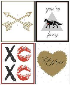16 FREE Valentine's Day Printables -Momista Beginnings
