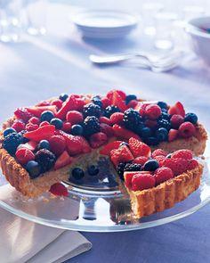 Almond-Coconut Tart - Martha Stewart Recipes