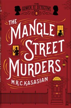 Book Cover Design for 'The Mangle Street Murders'. © Jim Tierney 2013