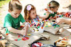 DIY juegos para niños en una fiesta Mexicana DIY kids activities on a Mexican party miraquechulo