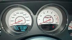 2013 Dodge Challenger SRT8 Gauges