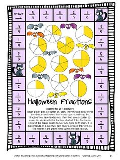 Halloween Math Games Third Grade by Games 4 Learning for bringing some Halloween fun into the classroom. $
