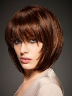 Tailor Made Bob - Short Hair Cuts for Round Faces