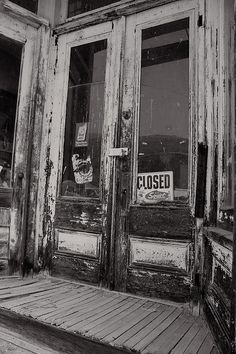 Closed for business Photograph