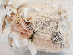 Tattered lace journal.