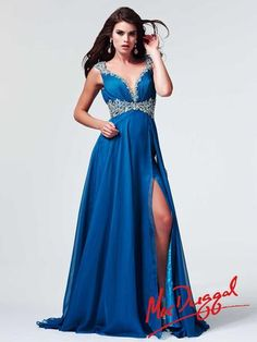 Mac Duggal Pageant Gown style 64693M