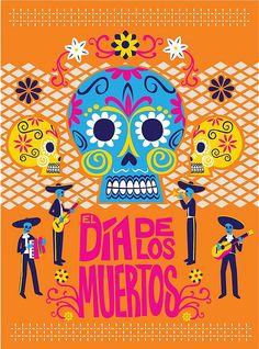 DIA DE LOS MUERTOS ☠~Day of the Dead~celebrate dia de los muertos in Mexico