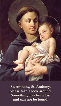 Dear St Anthony such a busy Saint :-)