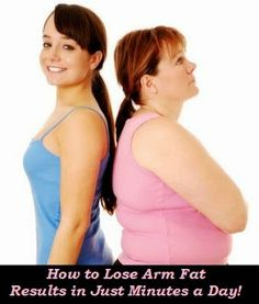 How to Lose Arm Fat - Results in Just Minutes a Day!